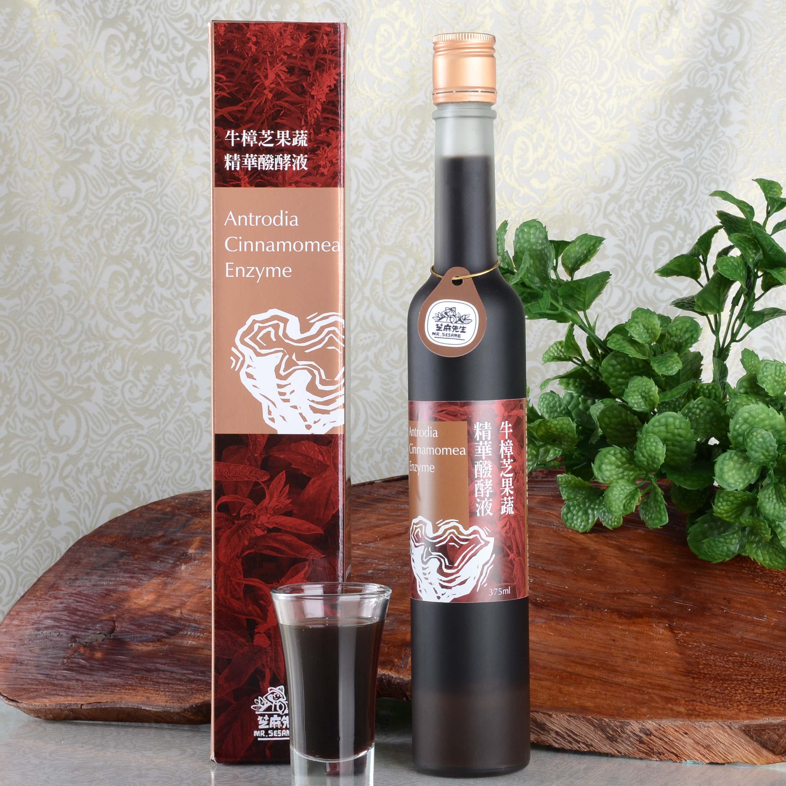 牛樟芝果蔬精華醱酵液(375ml)